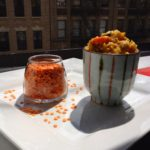 Autumn Lentil Curry in Japanese cups in Harlem