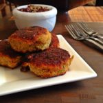 Leftover Thanksgiving Turkey & Potato Cutlets with Cranberry Sauce Chutney