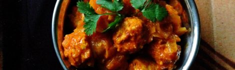 Indian Cooking 201 -- Recipe #3: Meatball Curry