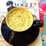 Fighting a cough or cold? Make yourself a homemade remedy: hot milk with turmeric & black pepper