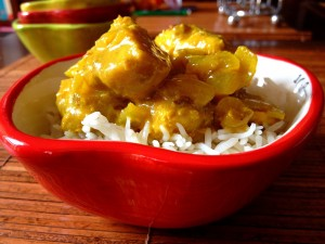 Weeknight Dinner Saver: Super Fast Fish Curry
