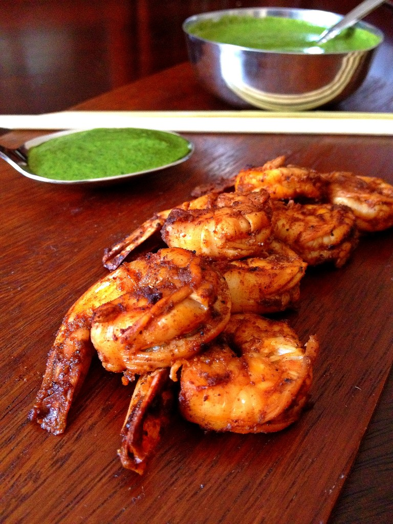 Bobby Flay S Grilled Shrimp Indian Barbecue Big Apple Curry