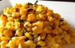 Indian-style grilled corn & coconut salad