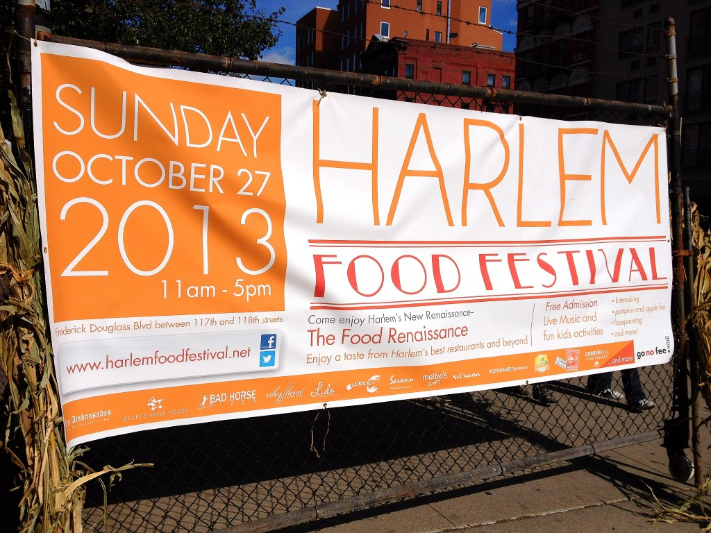 Harlem Food Festival on October 27, 2013