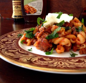 Nigella Lawson's Slow-cooked Lamb Ragu with Pasta