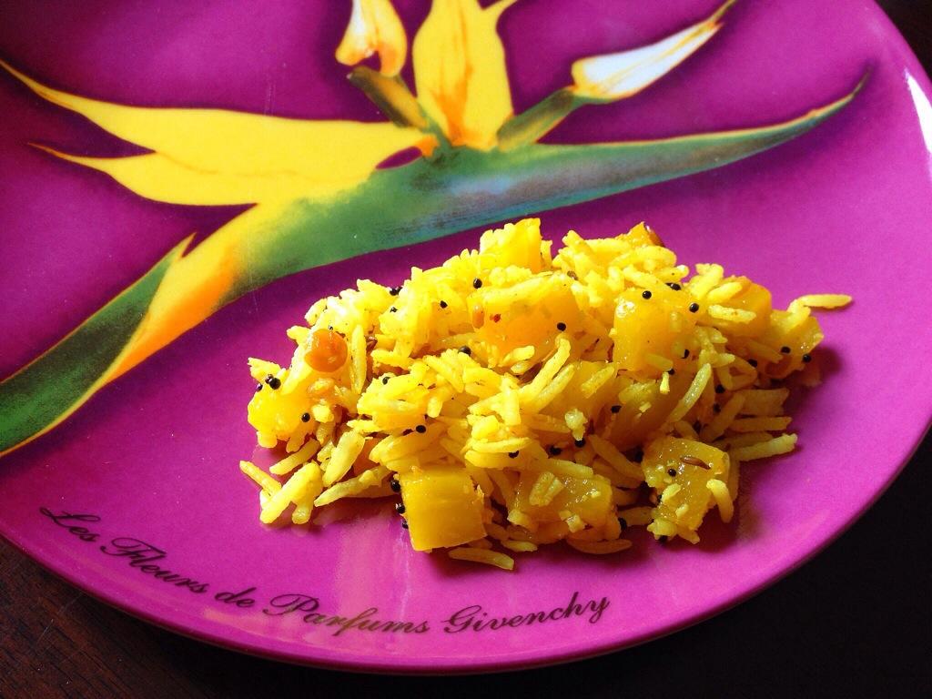 Green Mango Rice | Big Apple Curry