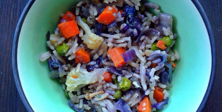 The Perfect Summer Dish: Basmati Rice with Mixed Vegetables