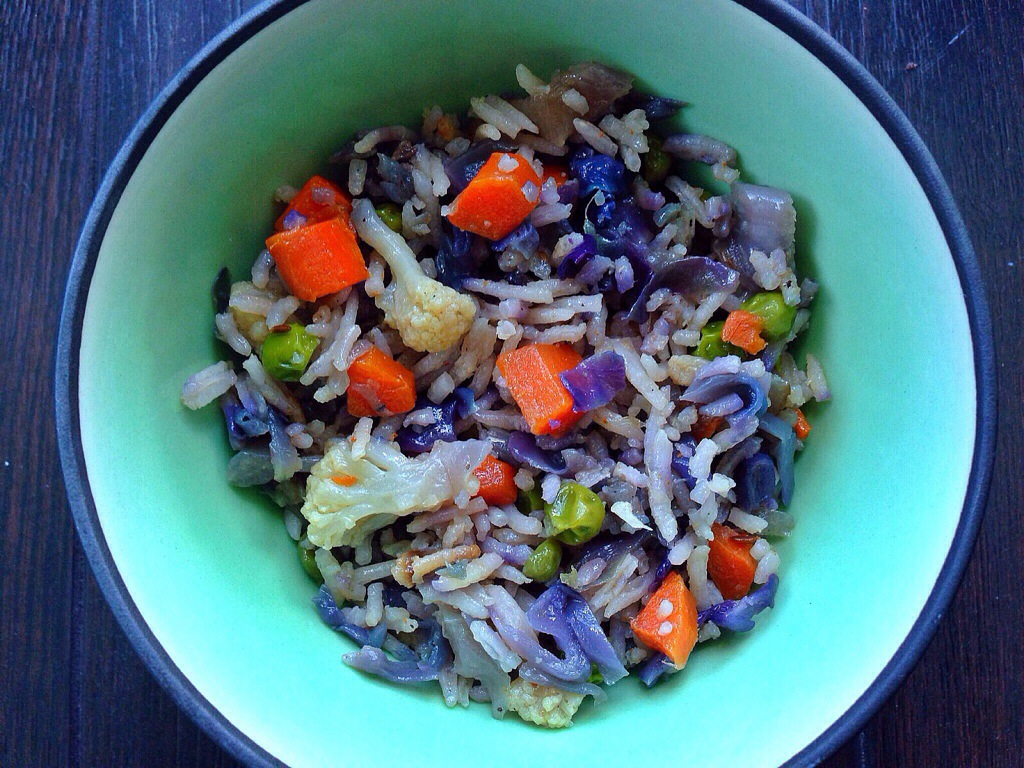 Basmati Rice with Mixed Vegetables