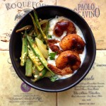 Weeknight Dinner Saver: Smoky & Spicy Indian BBQ Shrimp, Okra with Onions, and Zucchini Raita