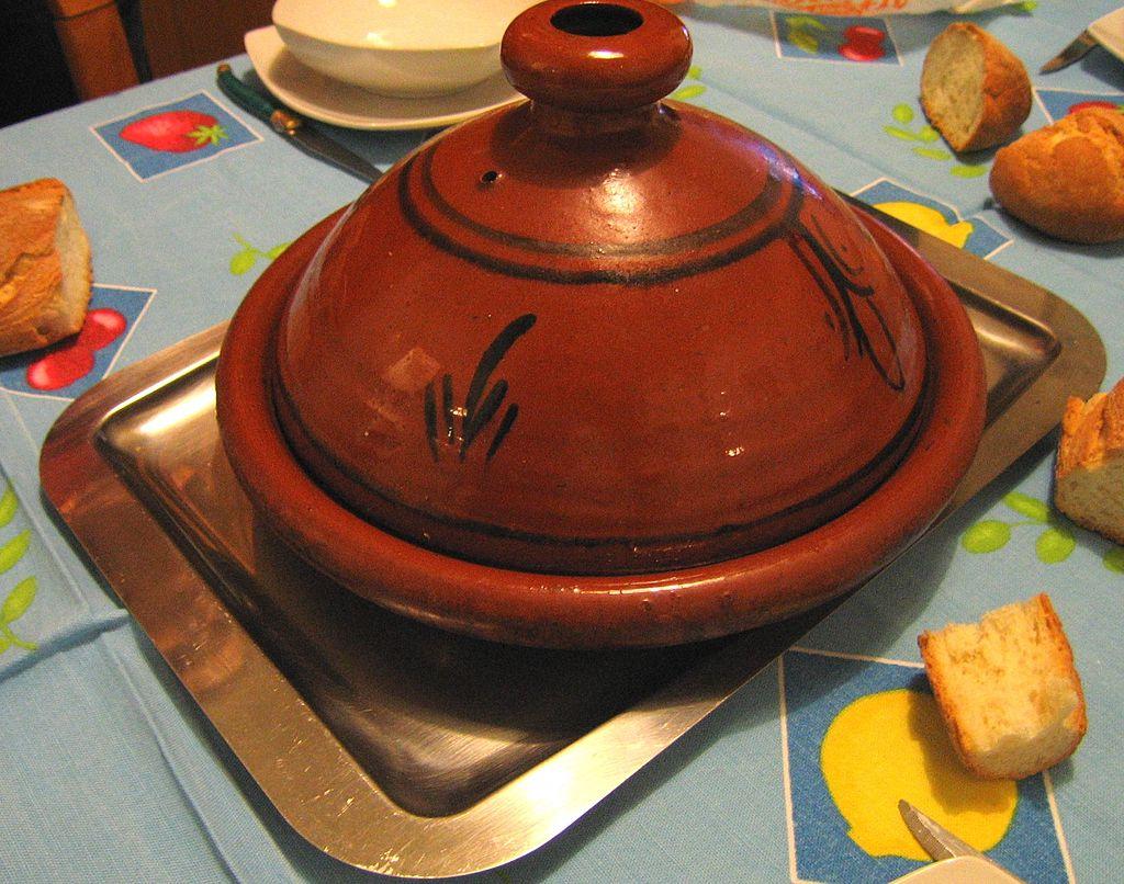 A classic tagine pot