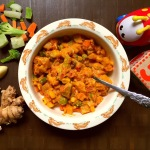Creamy Nine Vegetable Curry for Toddlers & Kids…Navratan Korma for little ones!
