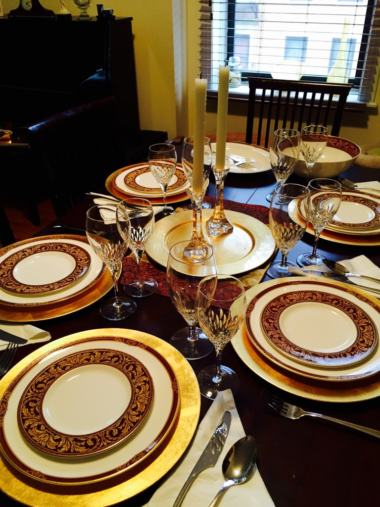 Elegant dinner table setting - Elegant Table Setting
