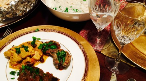 Hosting an elegant Indian dinner party at home
