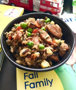 Curried Pork and Vegetable Fried Rice