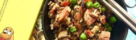 Weeknight Dinner Saver: Curried Pork & Vegetable Fried Rice