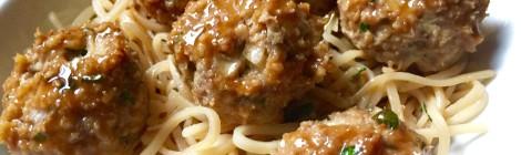 Garam Masala-spiced Teriyaki Turkey Meatballs