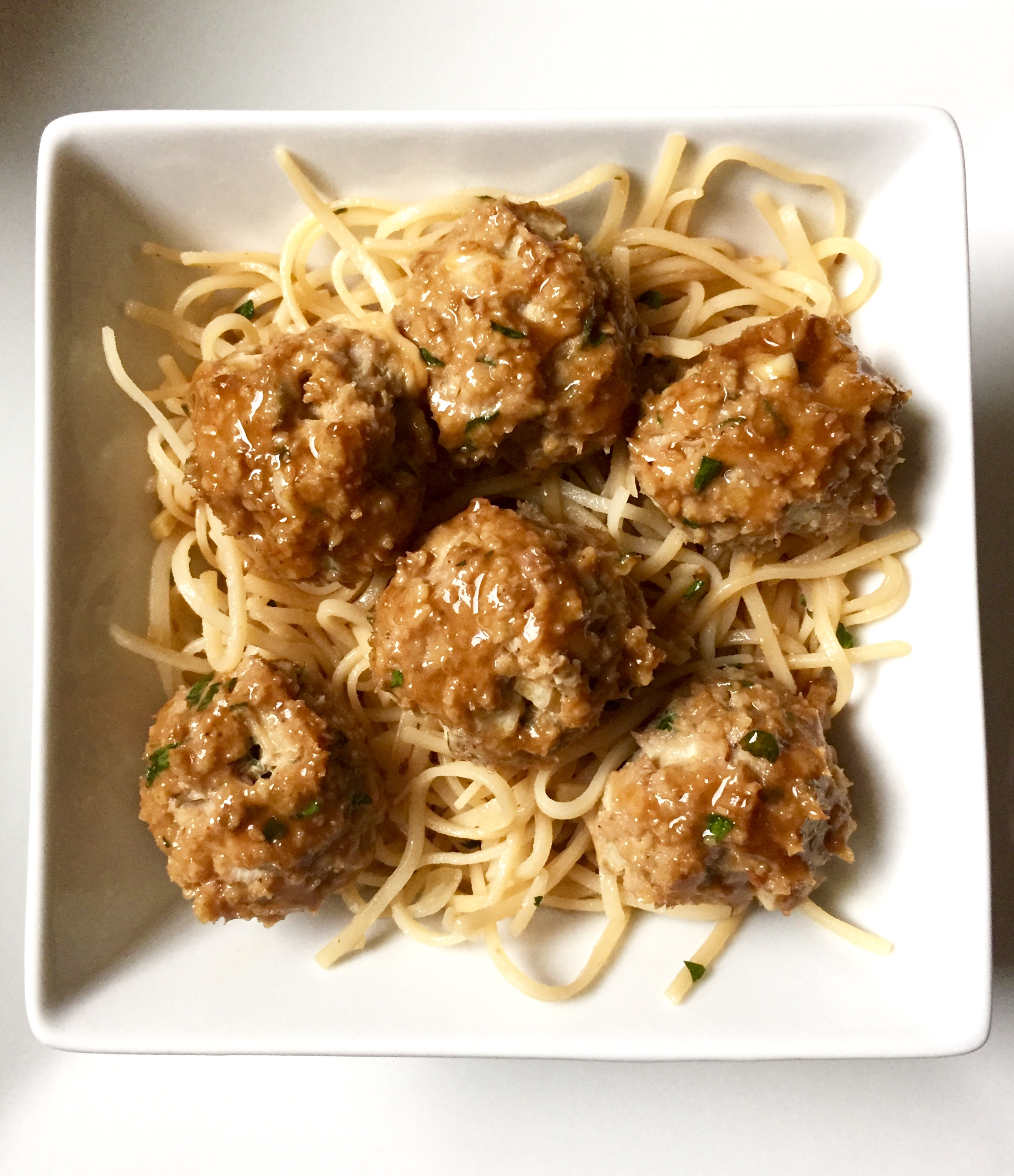Garam Masala-spiced Teriyaki Turkey Meatballs