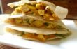 Leftover Rotisserie Chicken? Make A Curried Chicken, Apple, Walnut & Cheddar Quesadilla