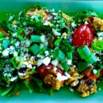 Going to a summer potluck? Make this Indian-inspired Coconut Curry Quinoa Salad