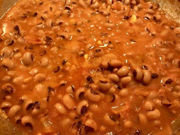 Black-eyed Peas Curry