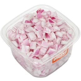 Organic Diced Red Onion