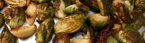 Roasted Curried Brussels Sprouts